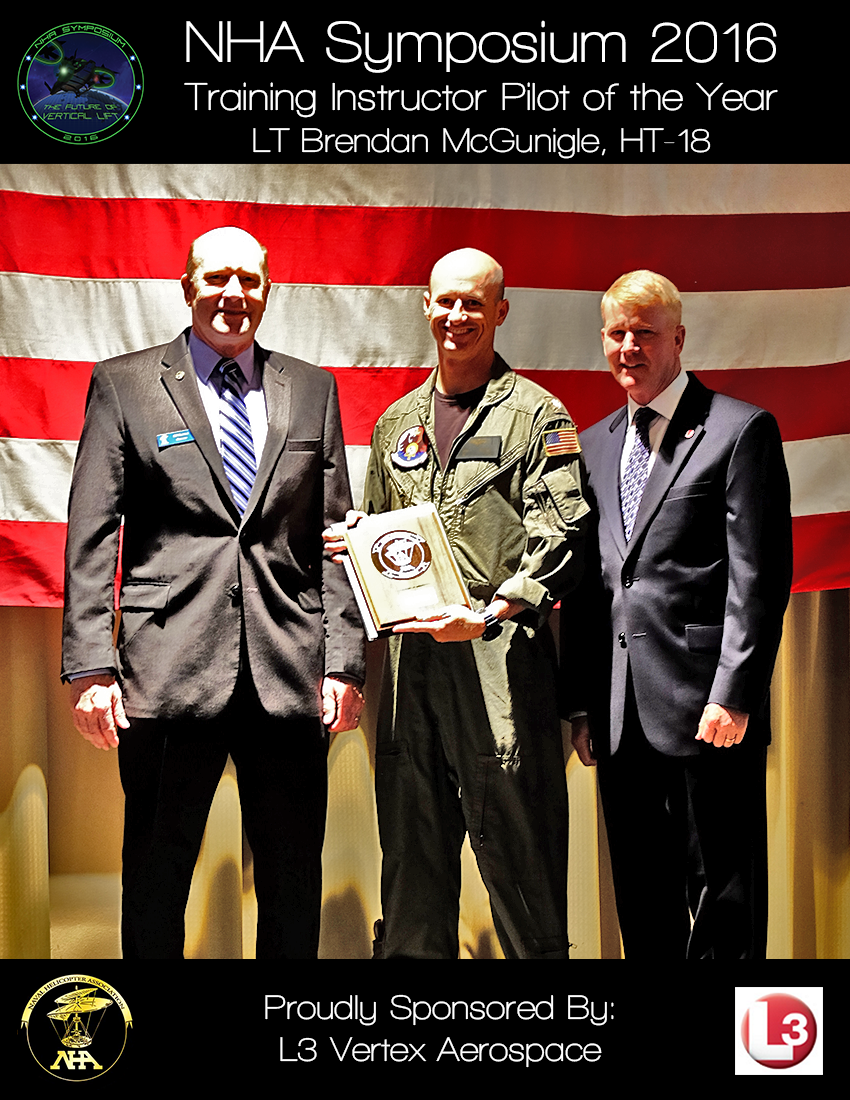 Training Command Instructor Pilot of the Year Award